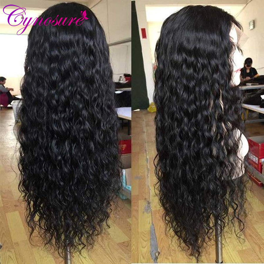 Cynosure water wave lace front wig