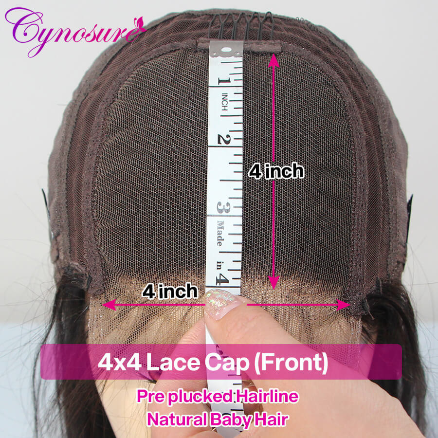 Cynosure body wave lace front wig human hair
