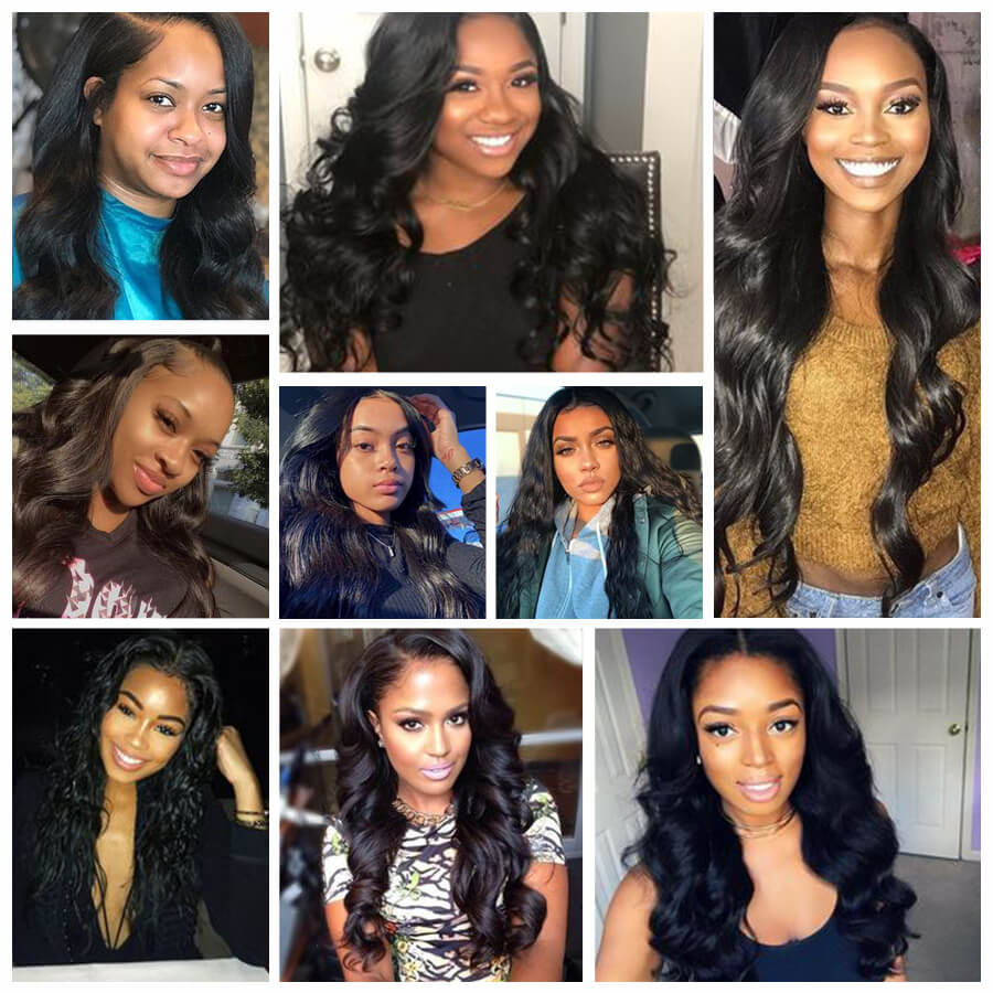 Cynosure cheap body wave lace front wig