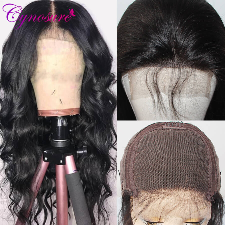 Cynosure long body wave wig